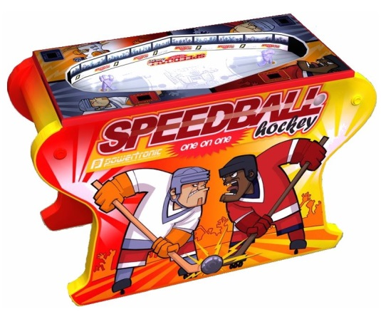 Air hockey Speedball